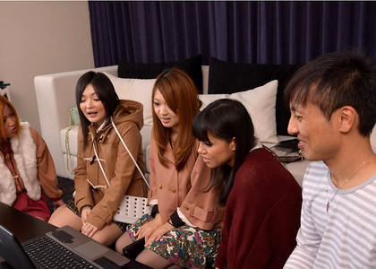 Japanese Pussy Party Gril Playing Cocks