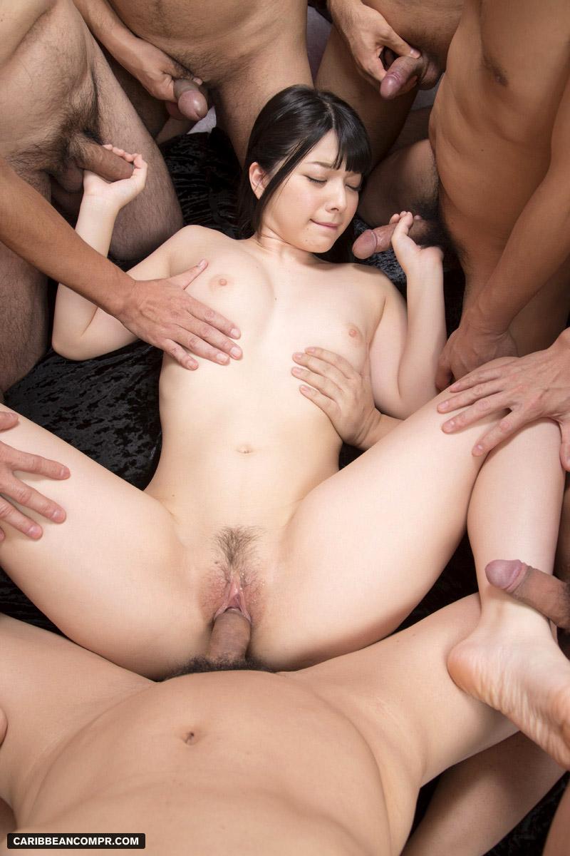 Hot Asian Lesbian Group Sex