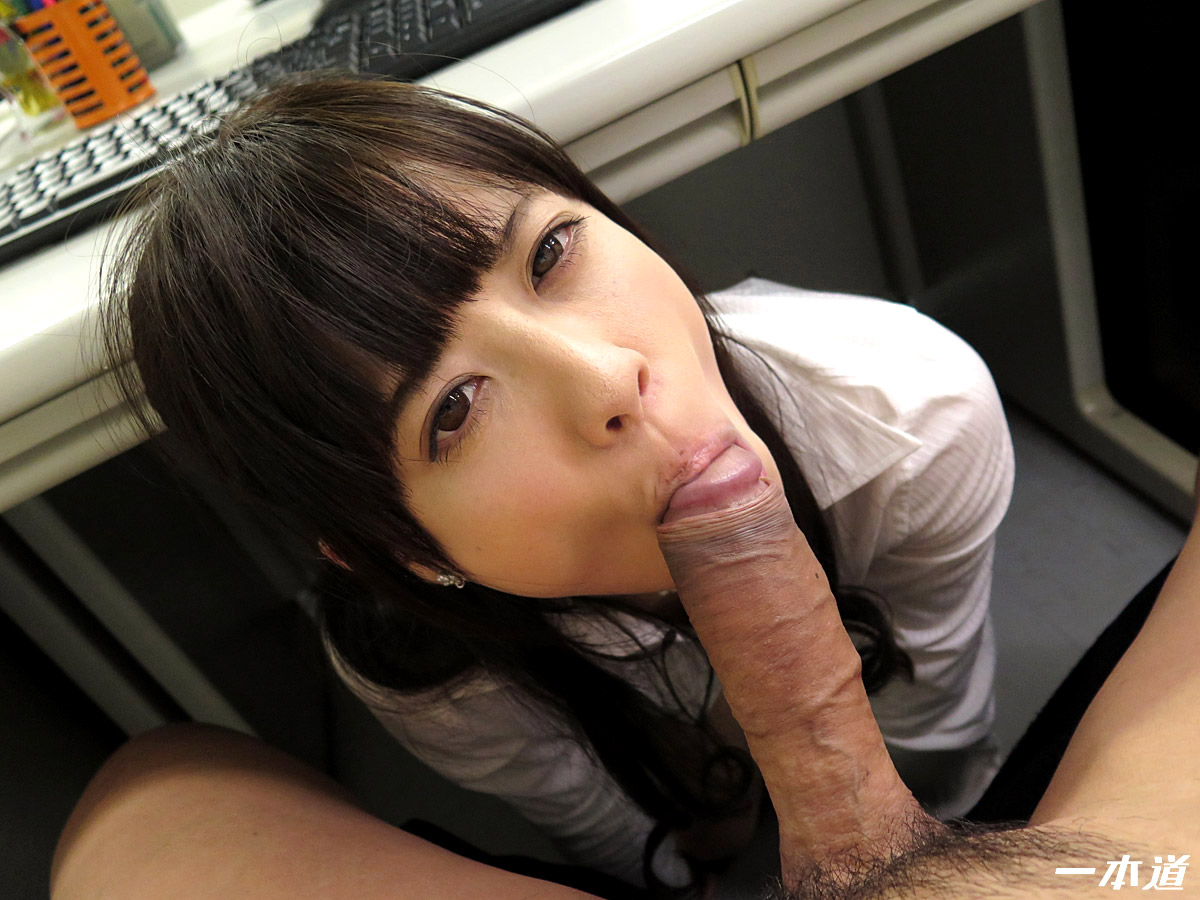 Nasty asian office sex with hot redhead giving double blowjob tnaflix porn pics