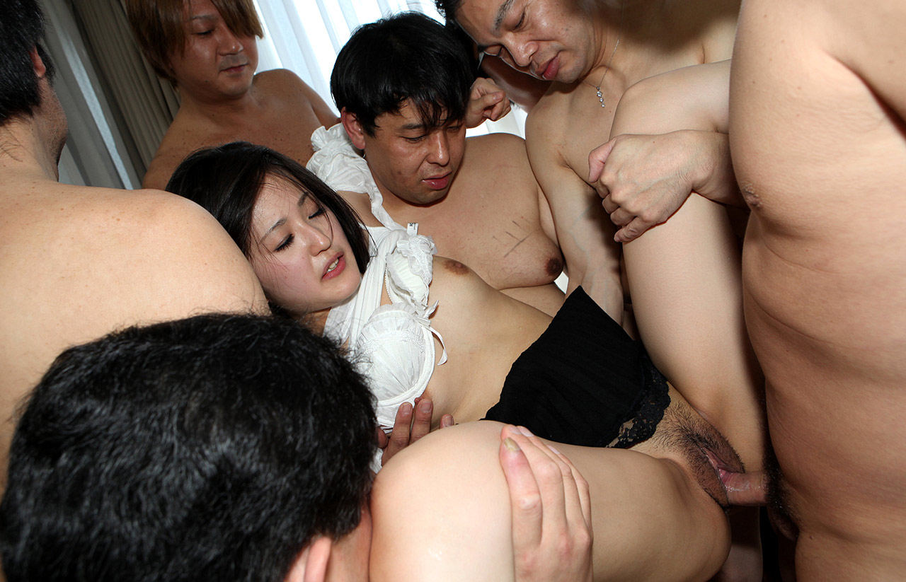 Asian wife gangbang amatuer