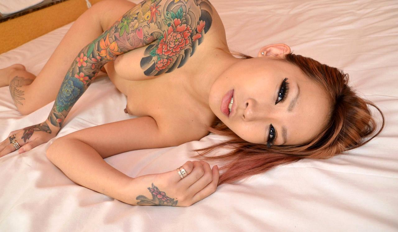 Asian tattoo black