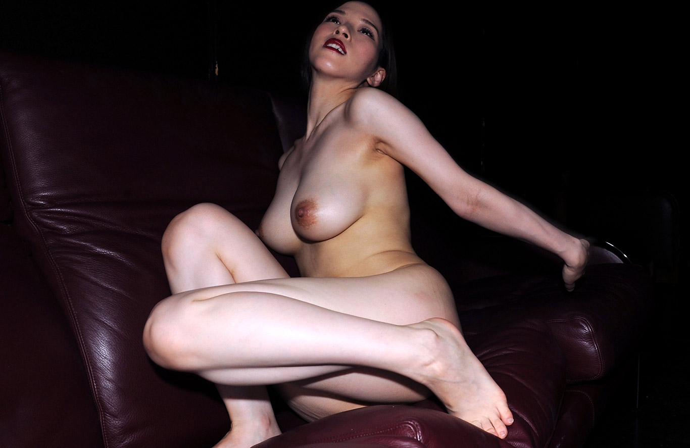 nude dark headed women